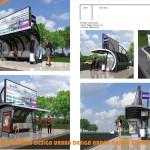 bus stop / автобусная остановка