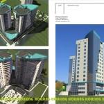 22 14 storeys apartment house